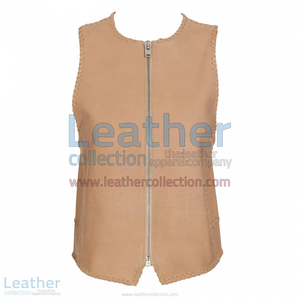 Braided Fashion Leather Vest | braided leather vest
