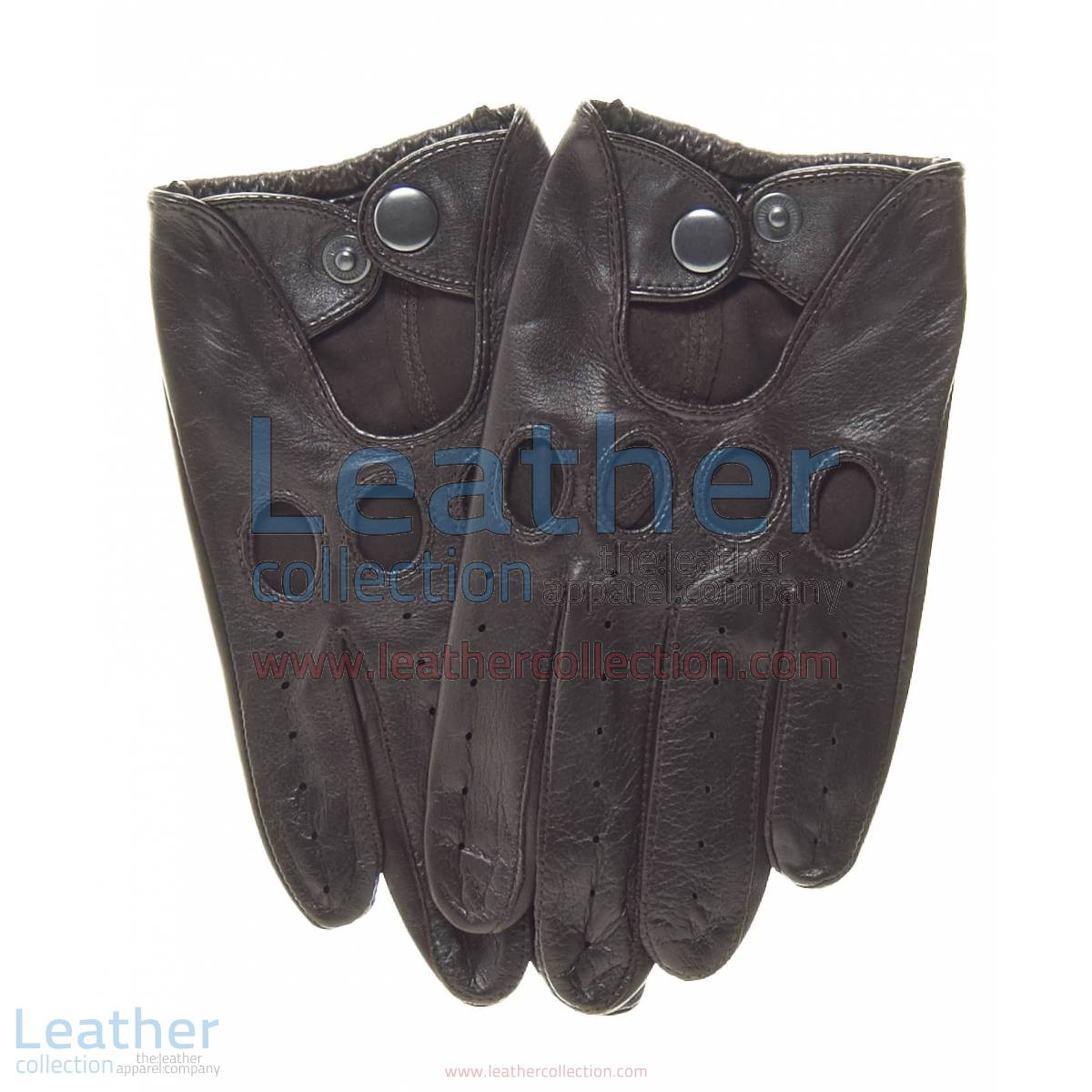 Brown Leather Fashion Driving Gloves | fashion driving gloves