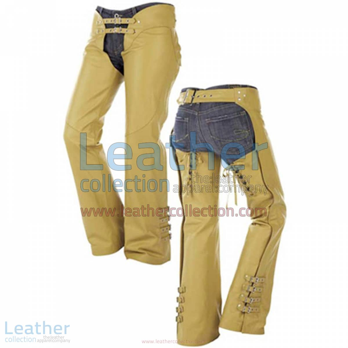 Buckles on Legs Leather Cowboy Chaps | leather cowboy chaps