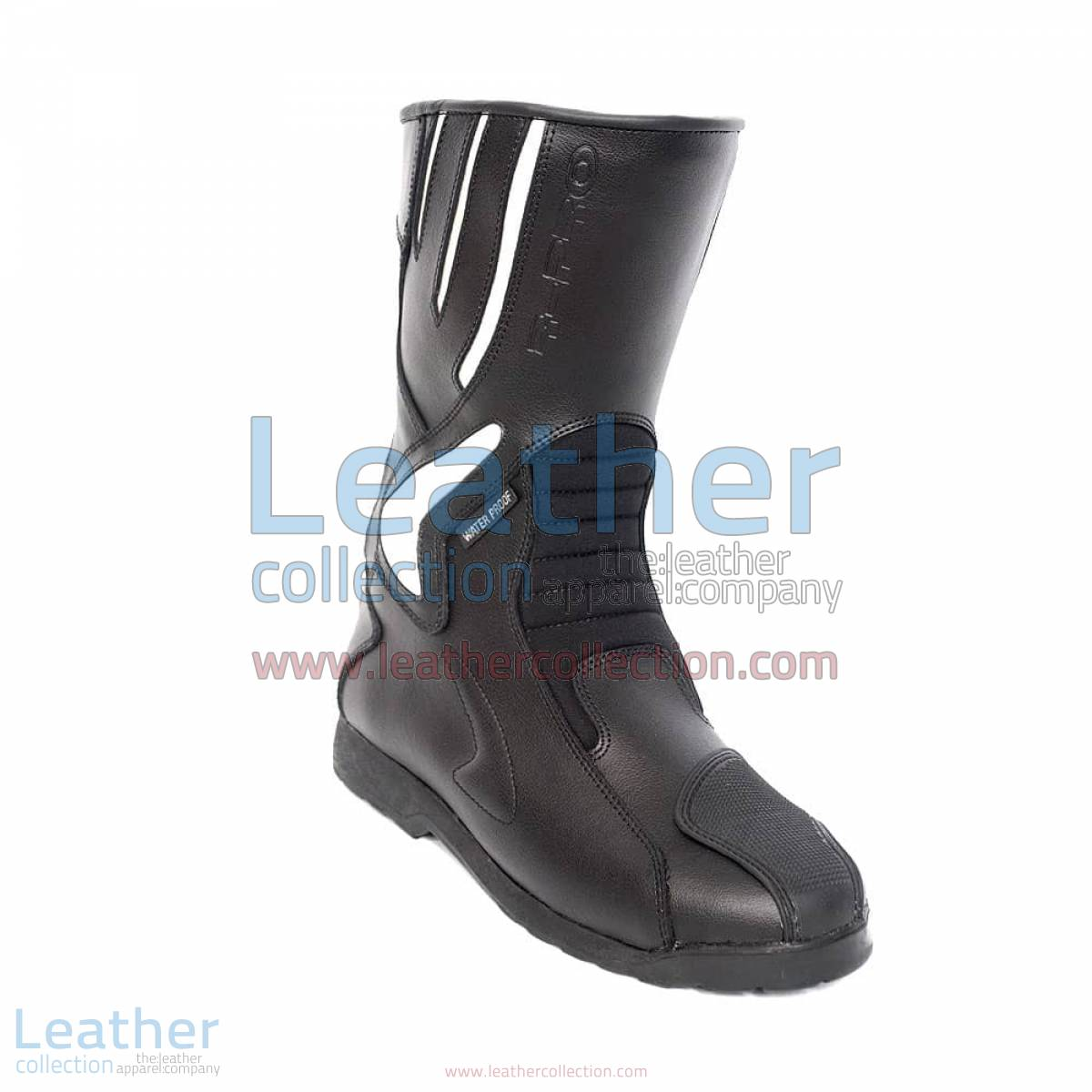Crescent Leather Moto Boots | leather moto boots