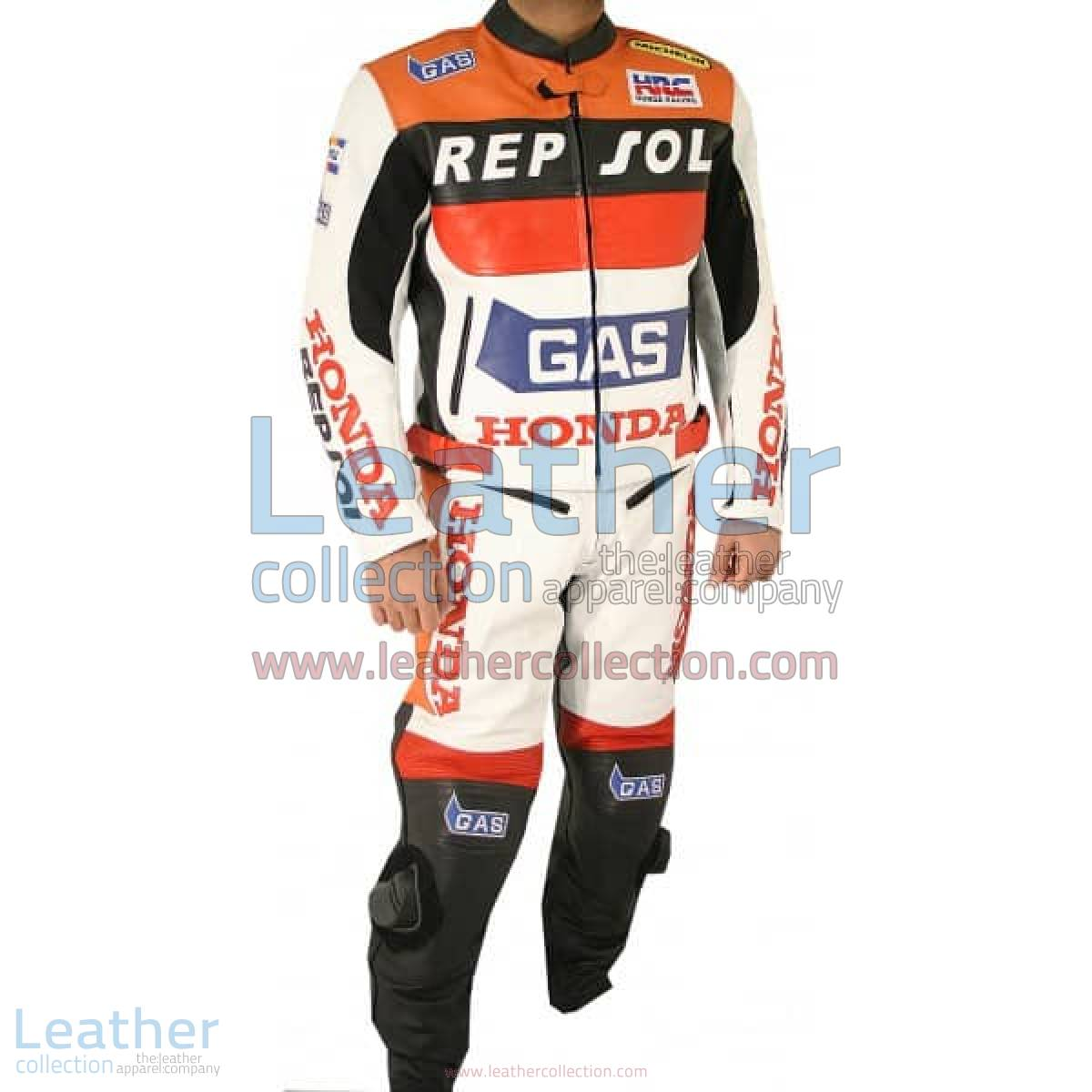 Honda Repsol Gas Leather Suit | leather suit