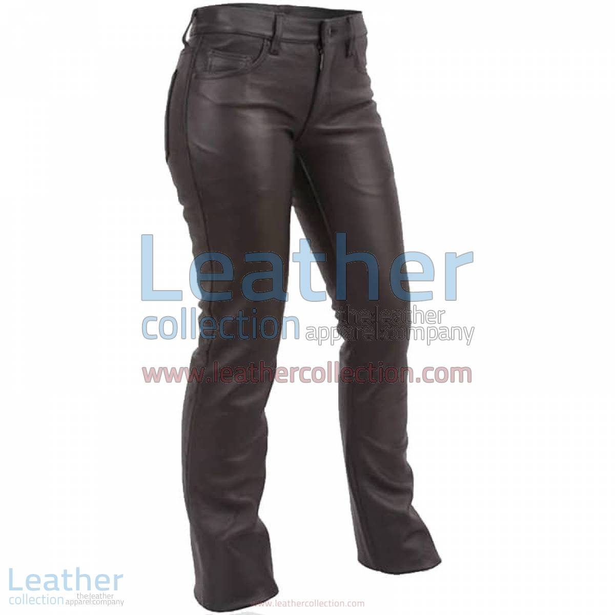 Jeans Style Low Rise Leather Pants | low rise leather pants