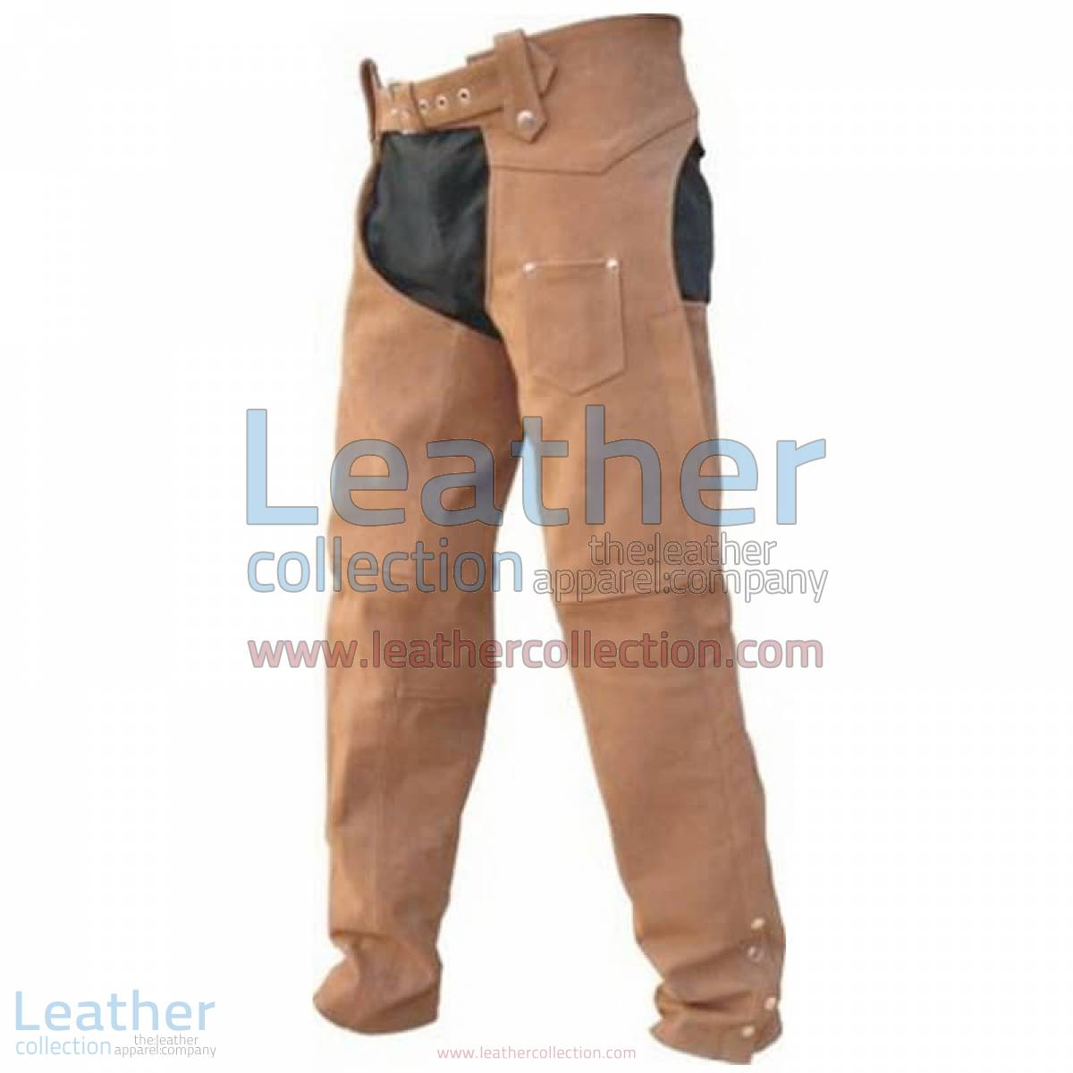 Men's Leather Riding Braided Chaps | leather riding chaps
