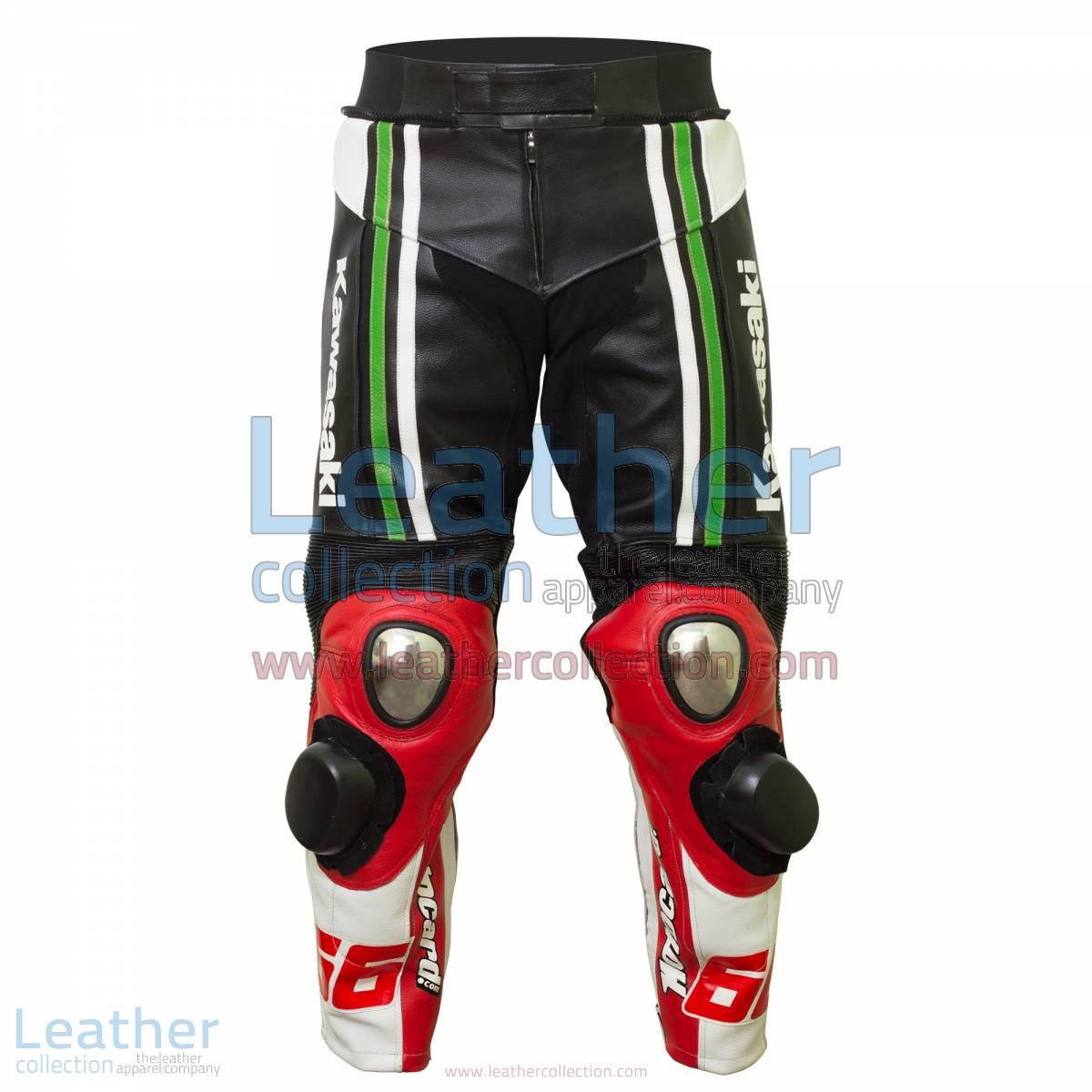 Tom Sykes Kawasaki 2015 SBK Leather Pants | kawasaki pants