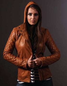 Black Leather Jacket With Hood Mens | Buy Now | Leather Collection