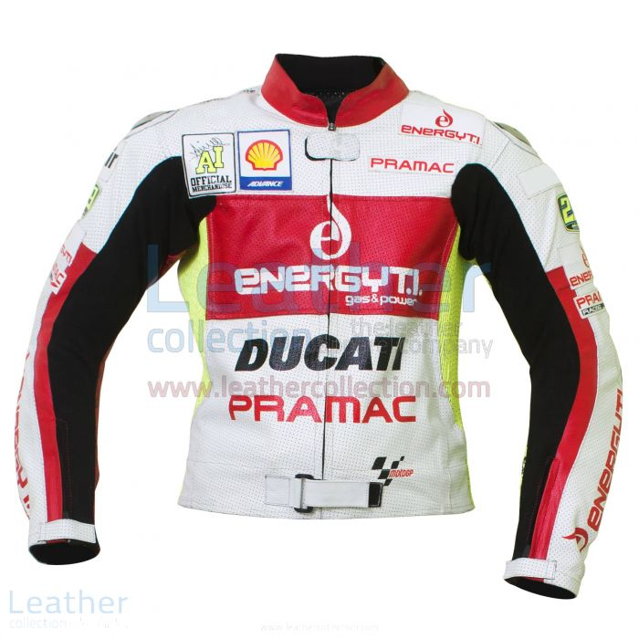 Andrea Iannone Ducati Motorcycle jacket front view