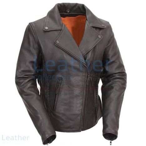 MENS LEATHER MOTORCYCLE VEST WITH BUFFALO NICKEL SNAPS