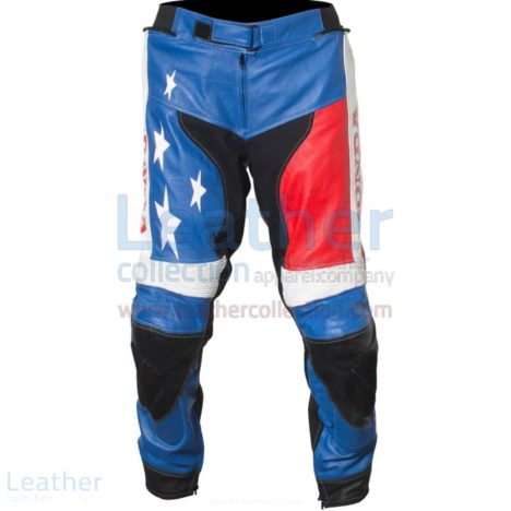 WHITE MOTORCYCLE TOURING PANTS
